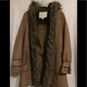 Large, Fur Trench Coat